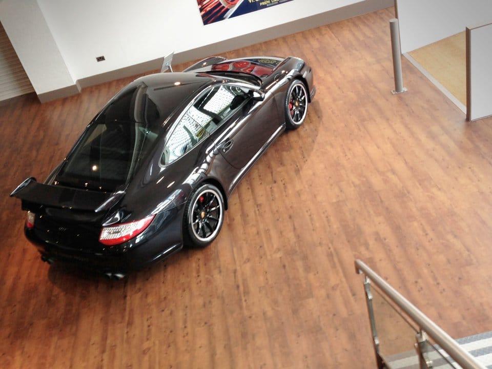 Car Showroom Flooring Commercial Vinyl Flooring