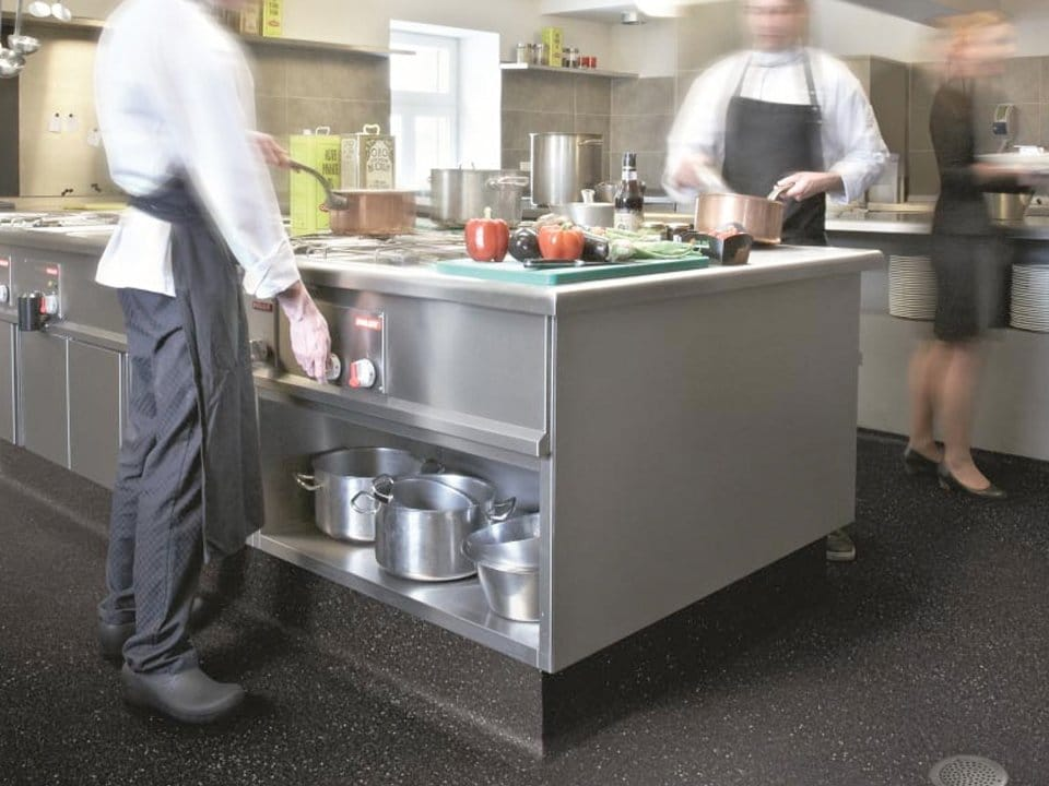 Commercial Kitchen Flooring In Birmingham Anti Slip
