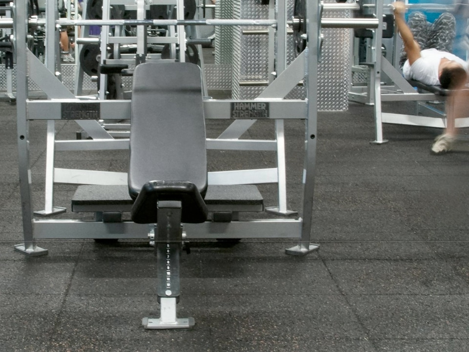 Gym Flooring Heavy Duty Rubber Floors