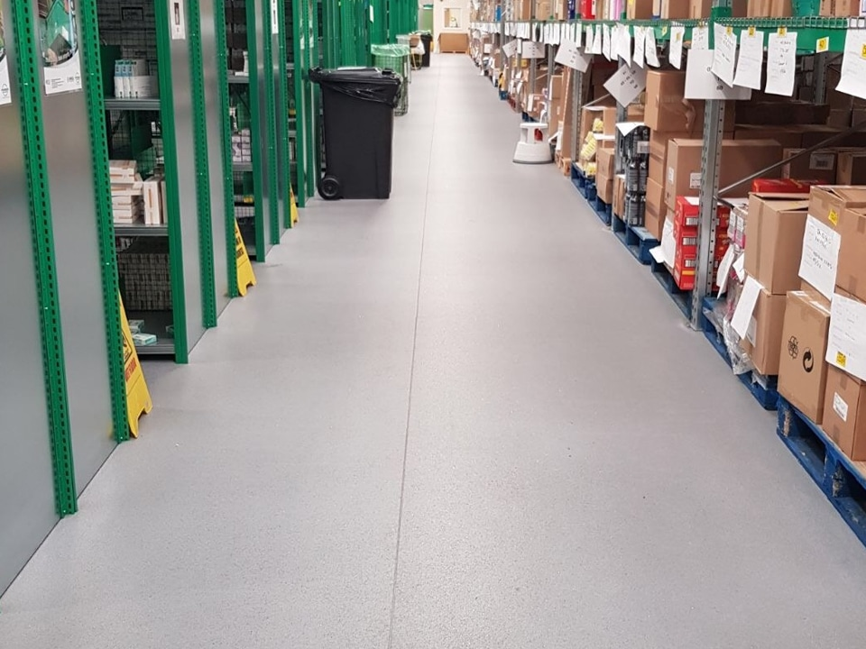 Industrial Warehouse Flooring Hardwearing Commercial Floors