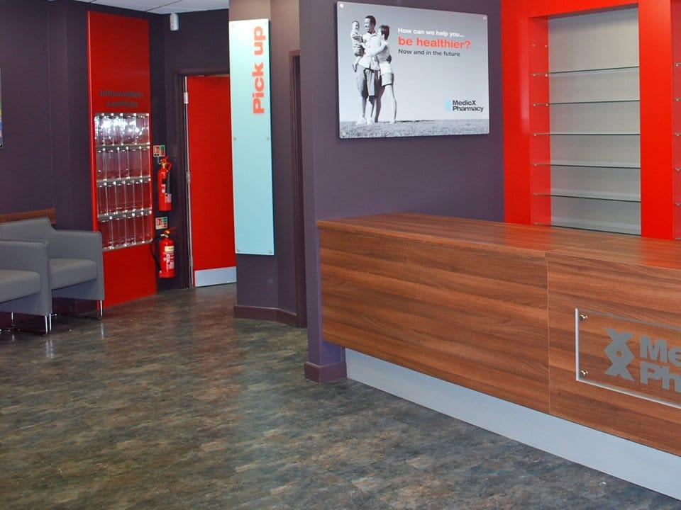 Pharmacy Flooring Hardwearing Shop Floors