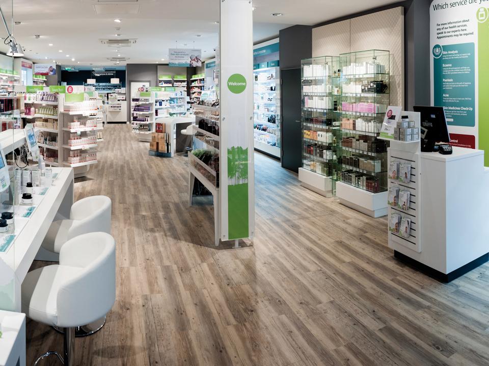 Pharmacy Flooring Retail Shop Floors