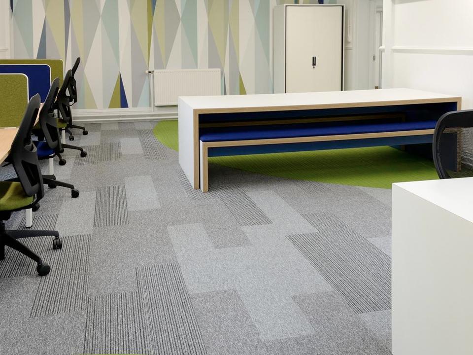 School Floors Hardwearing Carpet Tiles