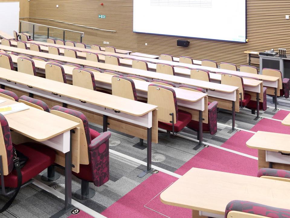 University Flooring Carpet Tiles Lecture Theatre