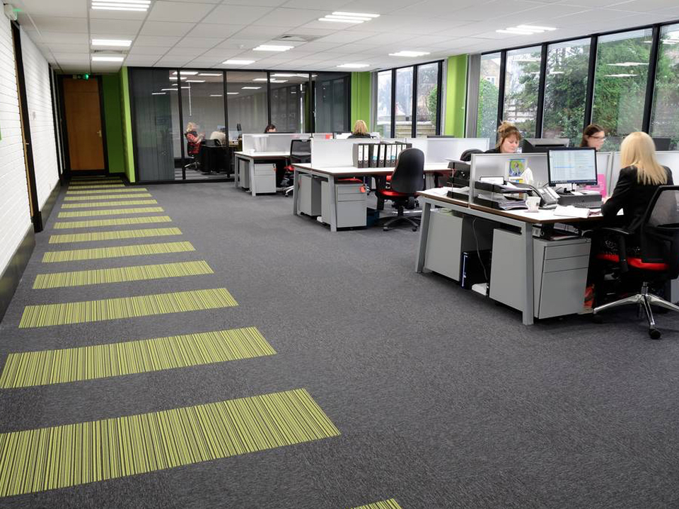 Hardwearing Commercial Carpet Tiles Office Flooring Stebro Flooring