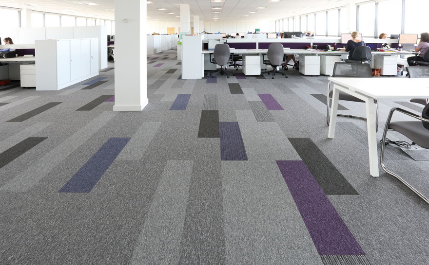 Contemporary Office Flooring Stebro Flooring Contractors